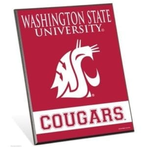 Washington State Cougars Easel Sign