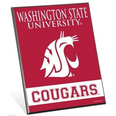 Washington State Cougars Merchandise - Easel Sign