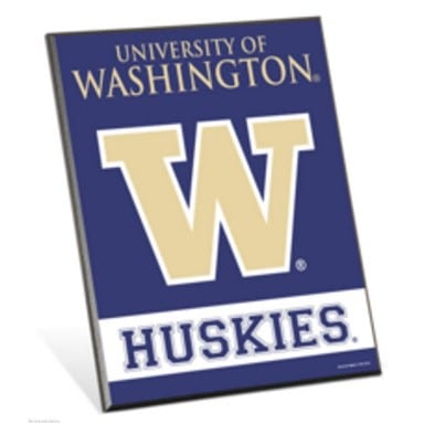 Washington Huskies Easel Sign