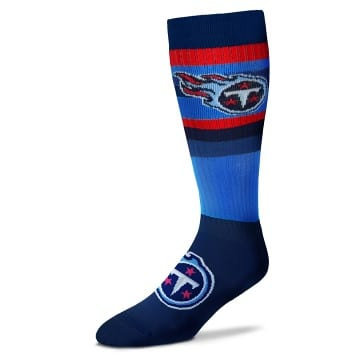 Tennessee Titans Merchandise - Multi Color Striped Socks