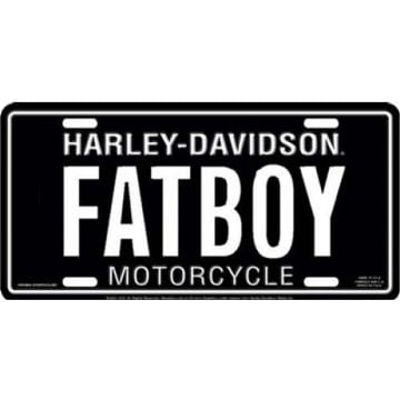 Harley Davidson Merchandise - FATBOY License Plate