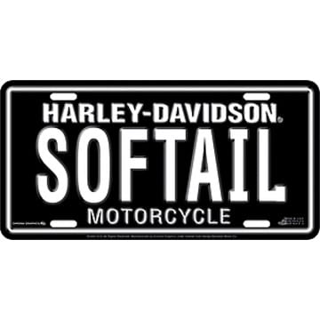 Harley Davidson Merchandise - SOFTAIL License Plate