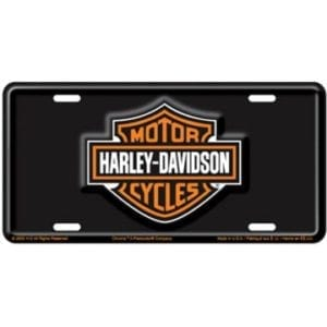 Harley Bar & Shield TAg