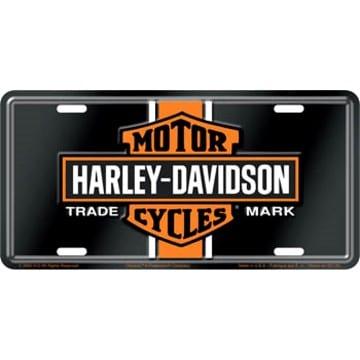 Harley Davidson Merchandise - Vintage License Plate