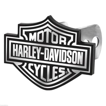 Harley Davidson Merchandise - Black and White Hitch Cover