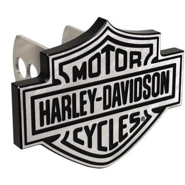 Harley Davidson Merchandise - Brushed Hitch Cover