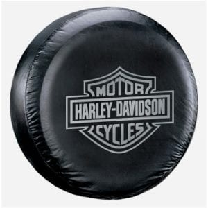 Spare Tire Cover - Harley Gray