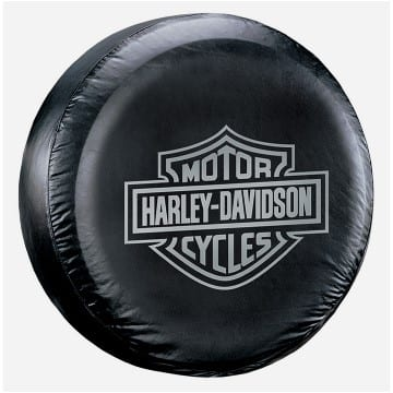 Harley Davidson Merchandise - Bar & Shield Spare Tire Cover
