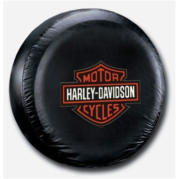 Spare Tire Cover - Harley Orange