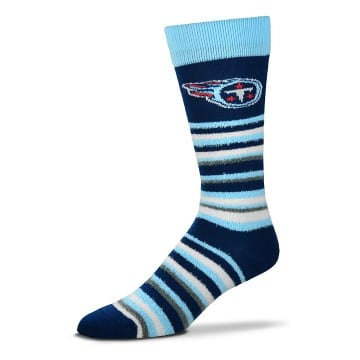 Tennessee Titans Socks - Muchas Rayas (Navy)