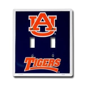 Auburn Tigers Light Switch Cover