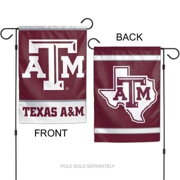 Flag - Garden - Premium - Texas AM