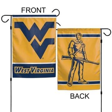 West Virginia Mountaineers Merchandise - Garden Flag
