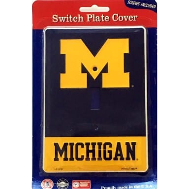Michigan Wolverines Merchandise - Light Switch Cover