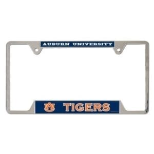 Metal License Plate Frame - Auburn Tigers