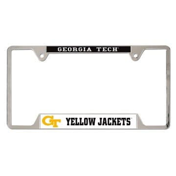 Metal License Plate Frame - Georgia Tech Yellow Jackets
