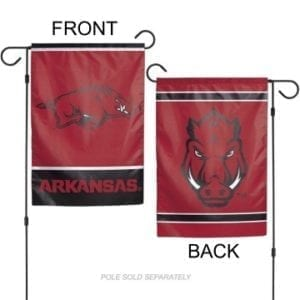 Arkansas Razorbacks Merchandise - Garden Flag