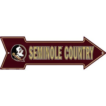 Florida State Seminoles Merchandise - Country Arrow Sign
