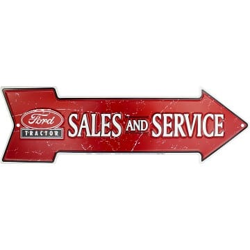 Hangtime - Arrow Sign - Ford Tractor Sales - AS25045