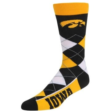 Iowa Hawkeyes Merchandise - Argyle Socks
