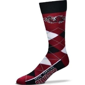 South Carolina Gamecocks Merchandise - Argyle Socks