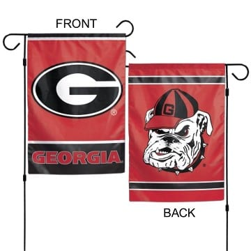Georgia Bulldogs Merchandise - Garden Flag
