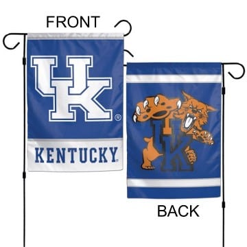 Kentucky Wildcats Merchandise - Premium Garden Flag
