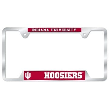 Indiana Hoosiers Merchandise - License Plate Frame