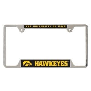 Iowa Hawkeyes Merchandise - License Plate Frame