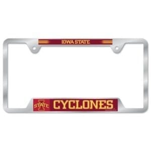 Iowa State Cyclones Merchandise - License Plate Frame