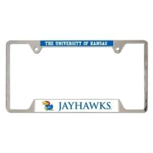 Kansas Jayhawks Merchandise - License Plate Frame