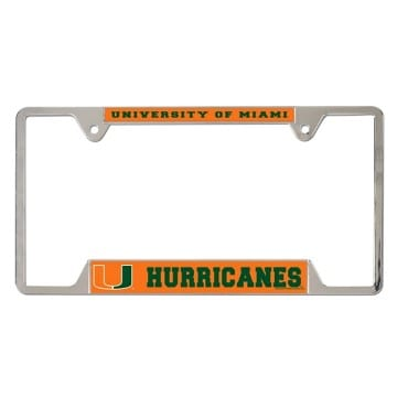 Frame - Metal - Miami Hurricanes