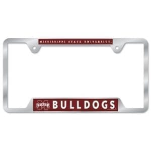 Mississippi State Bulldogs Merchandise - License Plate Frame