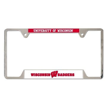 Wisconsin Badgers Merchandise - License Plate Frame