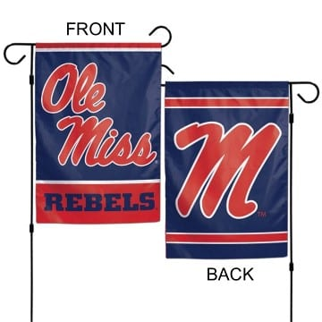 Ole Miss Rebels Merchandise - Garden Flag