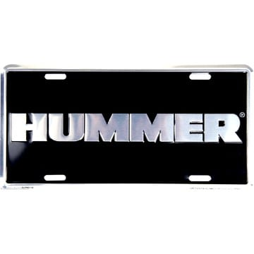Auto Tag - Hummer Chrome
