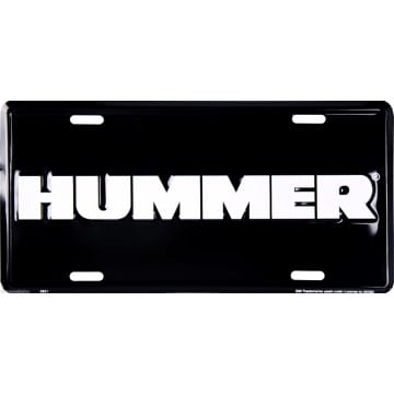 Auto Tag - Hummer Merchandise