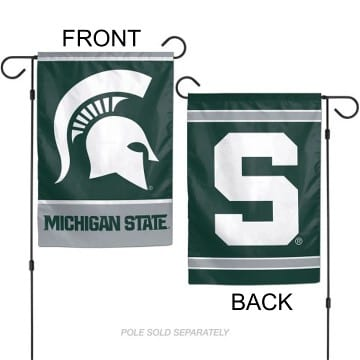 Flag - Garden - Premium - Michigan State Spartans Merchandise