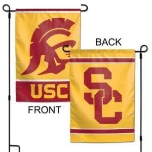 Garden Flag - Deluxe - USC Trojans Merchandise