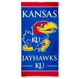 Kansas Jayhawks Merchandise - Beach Towel