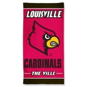 Louisville Cardinals Merchandise - Beach Towel
