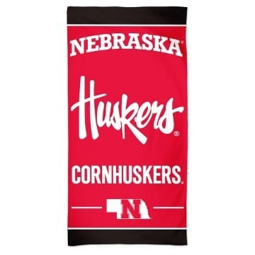 Nebraska Cornhuskers Merchandise - Beach Towel