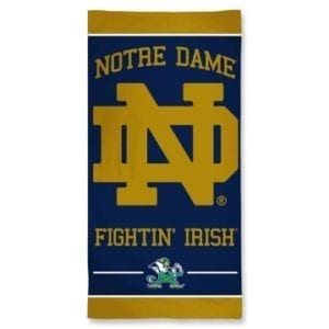 Notre Dame Fighting Irish Merchandise - Beach Towel