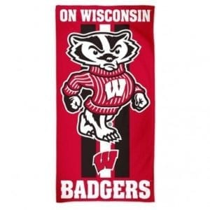 Wisconsin Badgers Merchandise - Beach Towel