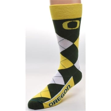 Socks - Argyle - Oregon Ducks Merchandise
