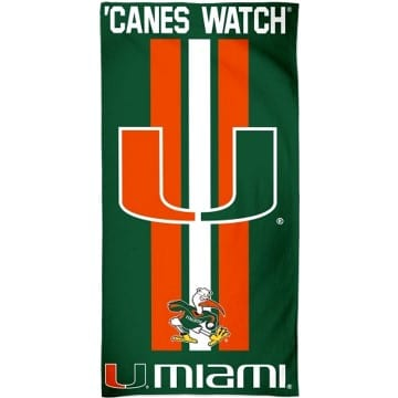 Miami Hurricanes Merchandise - Beach Towel