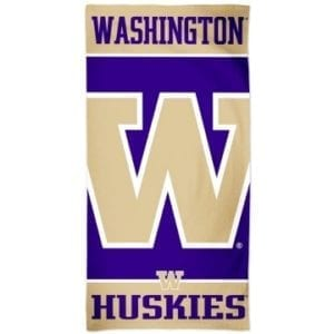 Washington Huskies Merchandise - Beach Towel