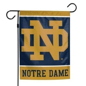 Notre Dame Fighting Irish Merchandise - Garden Flag