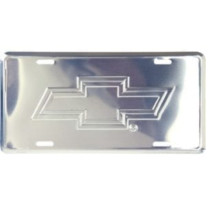 Chevrolet Merchandise - License Plate