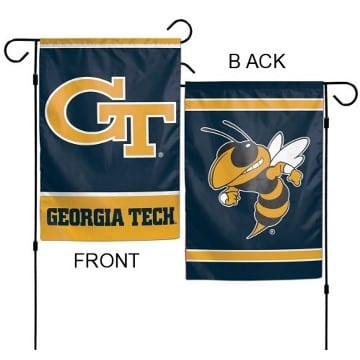 Flag - Garden - Deluxe - Georgia Tech